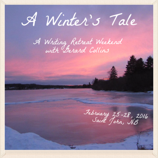 A Winter's Tale:Gerard Collins at Homeport Bed and Breakfast.